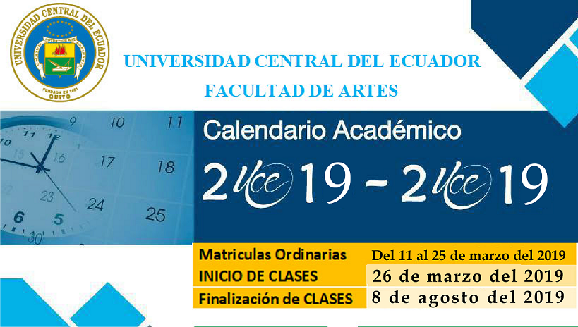 Calendario Academico 2020 2020.Archive Noticias Universidad Central Del Ecuador